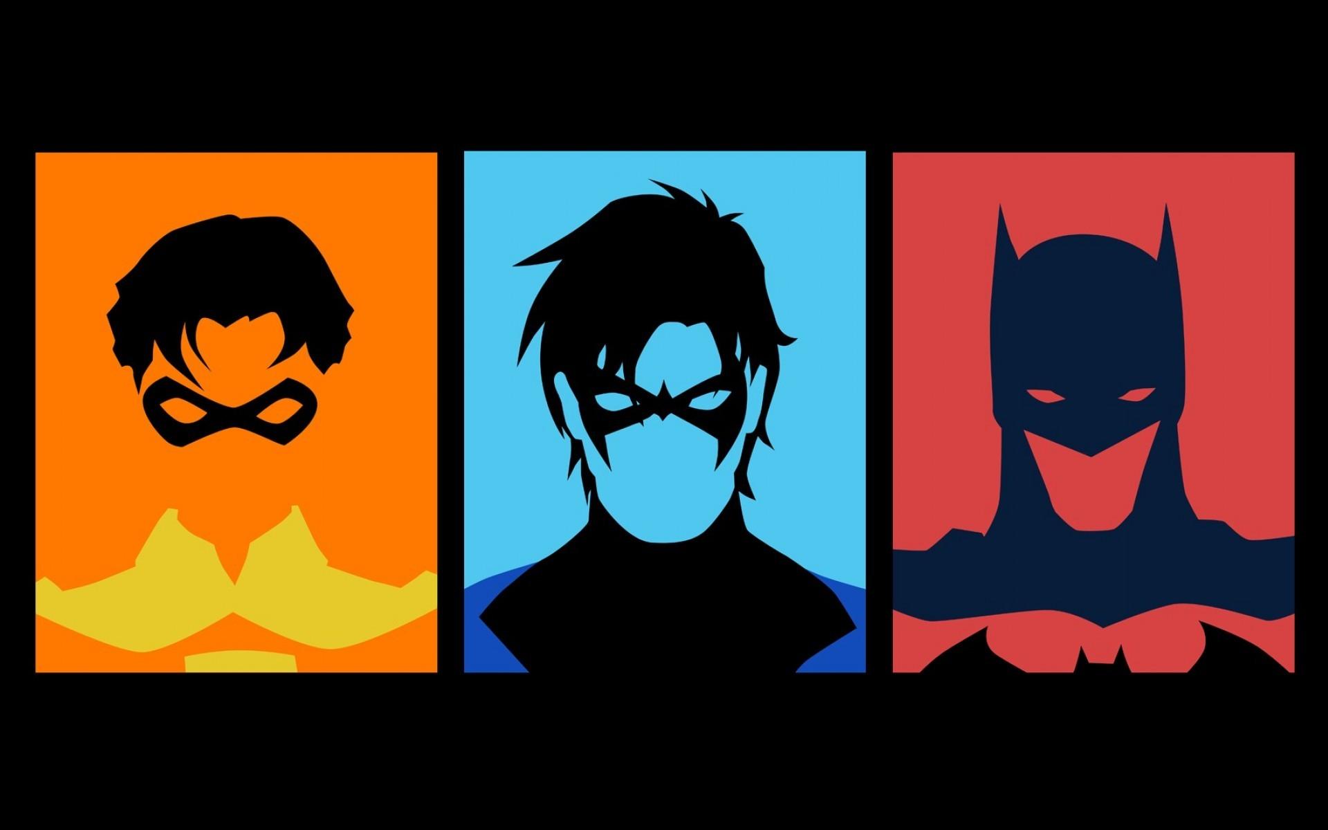 Minimalistic Look Batman And Robin Wallpaper Wallpapersafari