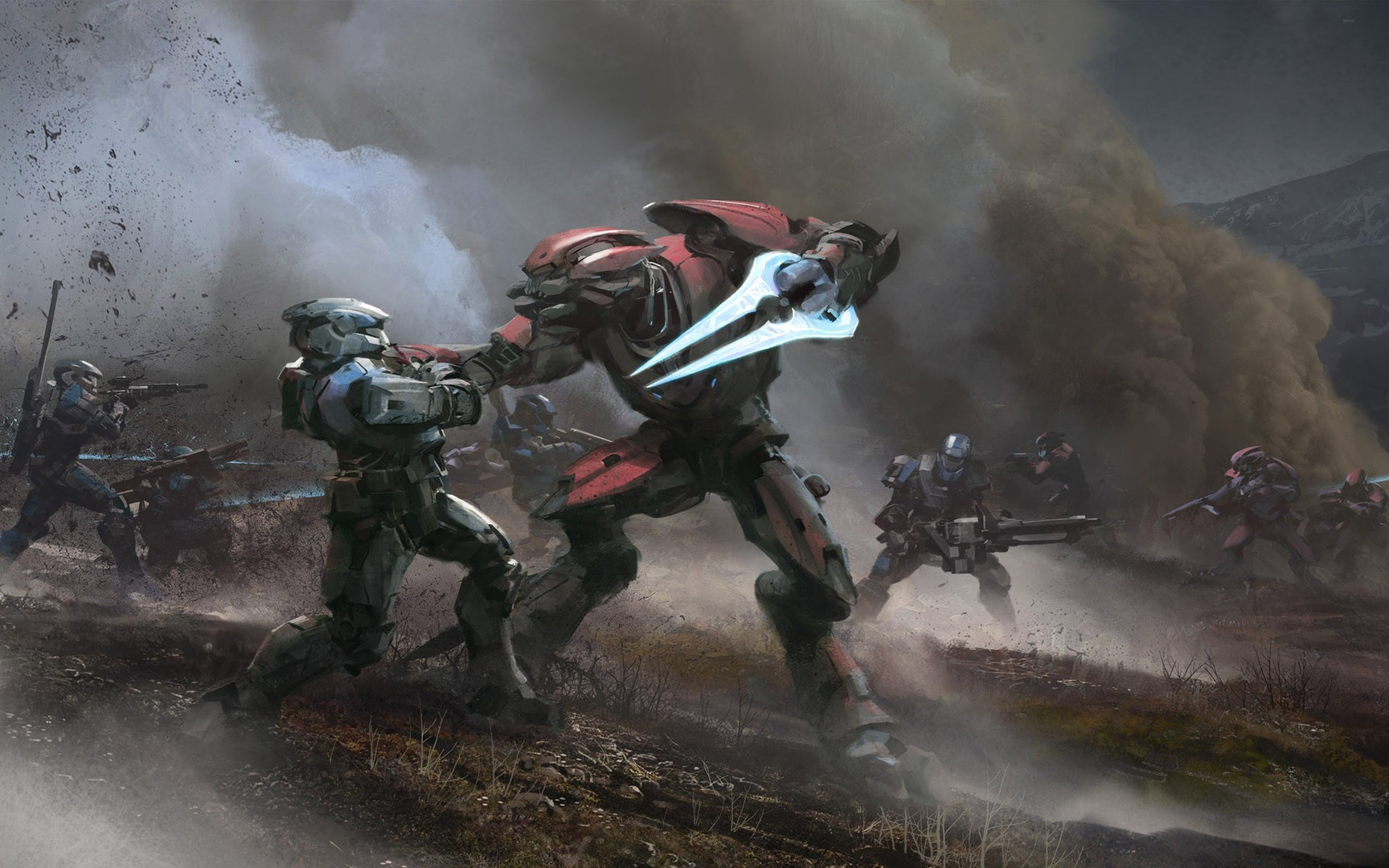 Halo   Reach wallpaper 14032 1728x1080