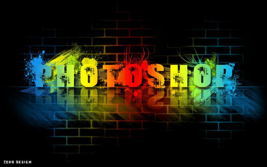 Colorful Photoshop Wallpaper by Zero1122 900x563