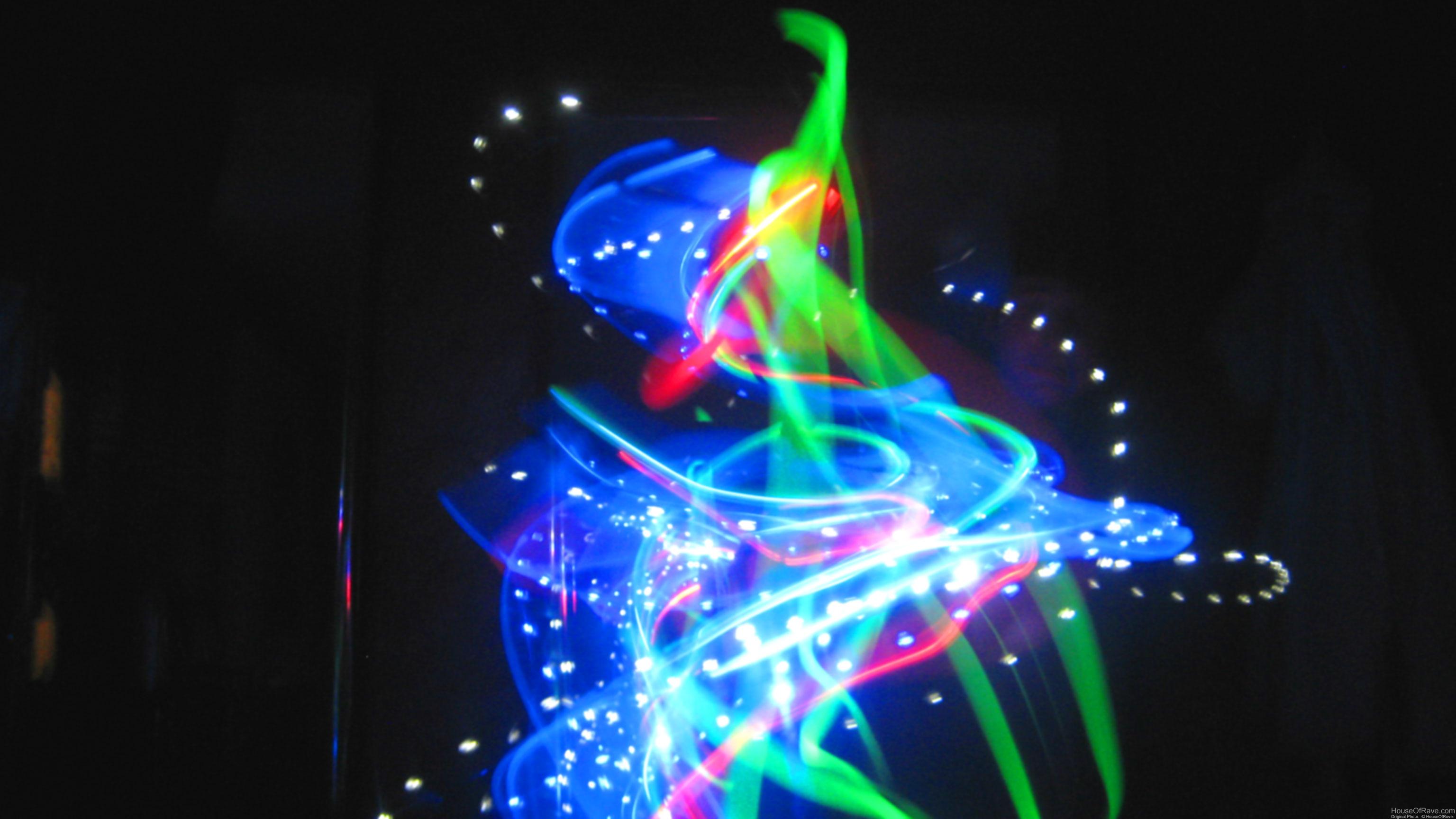 Rave Lights Wallpaper