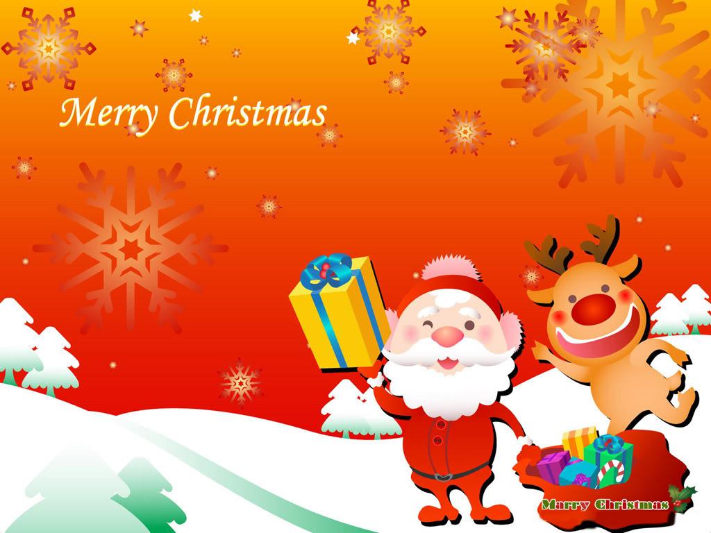 Cute Reindeer Desktop Wallpapers 1024x768