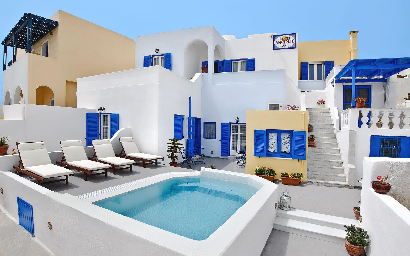 Santorini Hotel Afrodete Fira Hotels Santorini Rooms 1680x1050