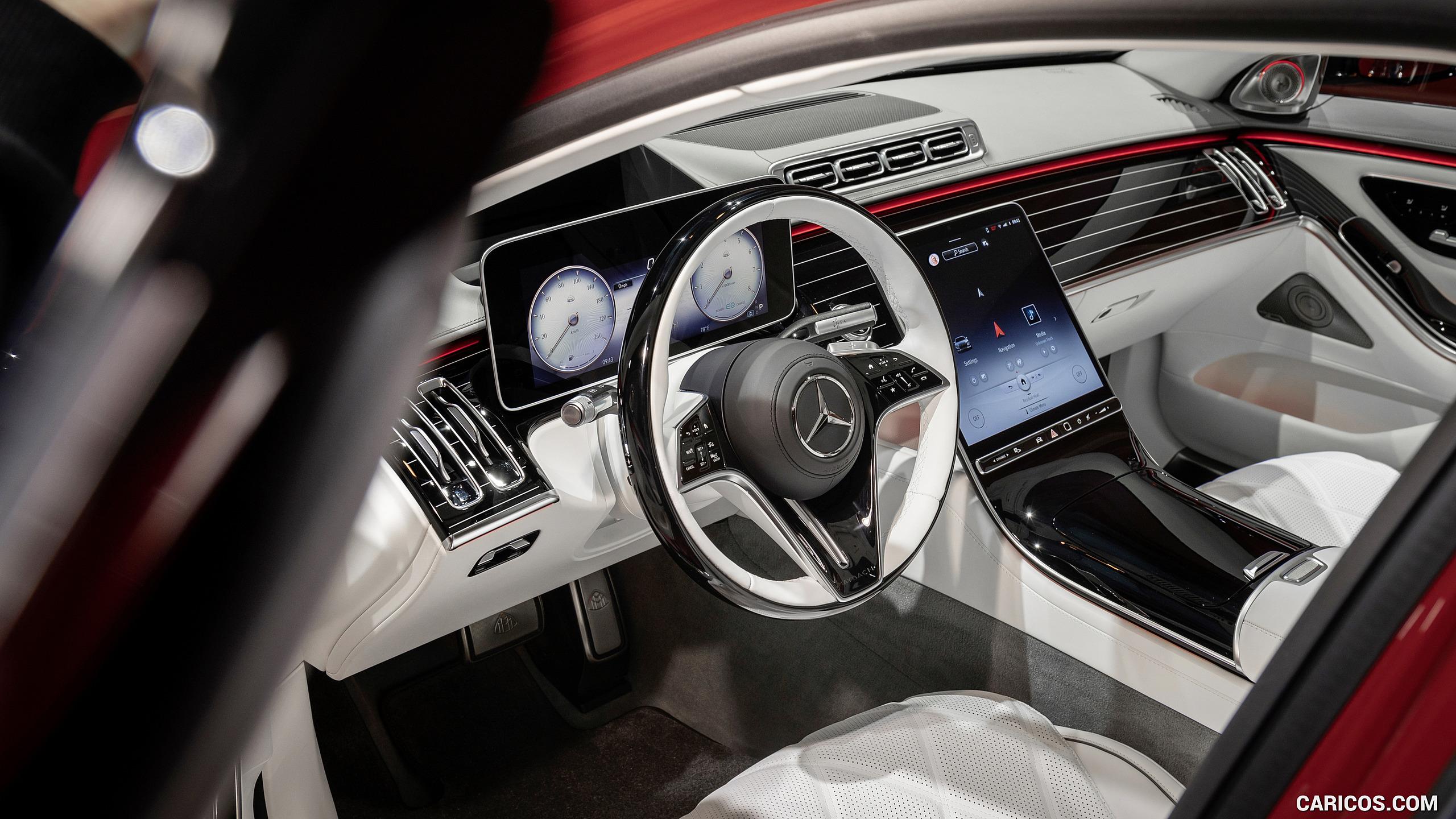 2021 Mercedes Maybach S Class   Interior Caricos 2560x1440