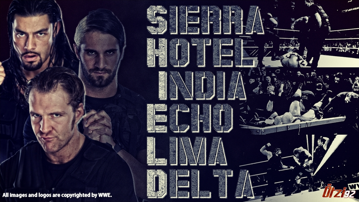 The Shield Wallpaper   WWE on Wrestling Media 1248x702