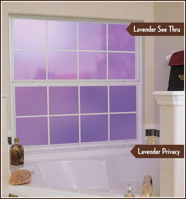 Lavender Deco Tint Decorative Window Film Wallpaper For Windows 600x643