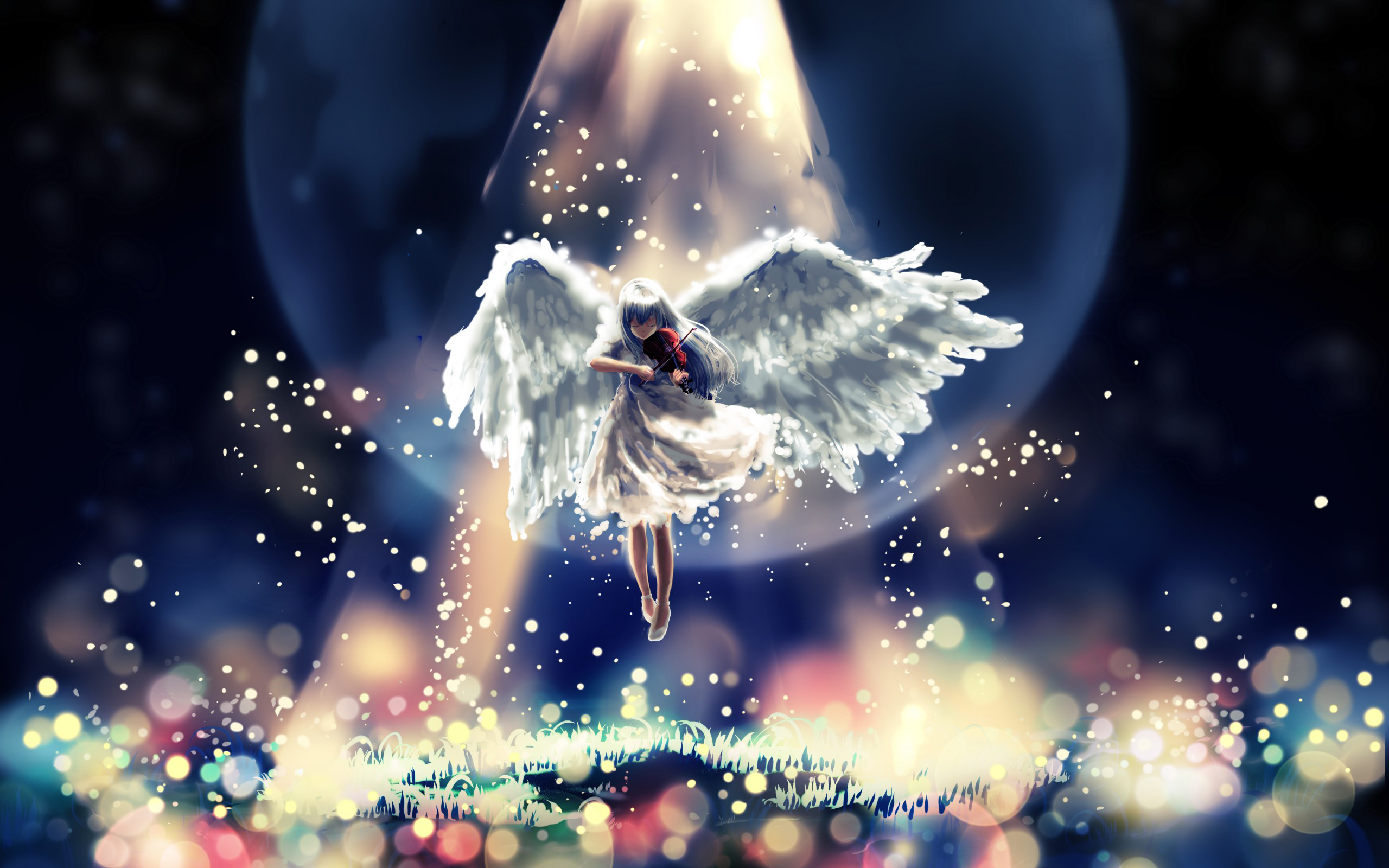 Angel HD Wallpaper Picture Wallpaper Cartoon image and save image as 2560x1600