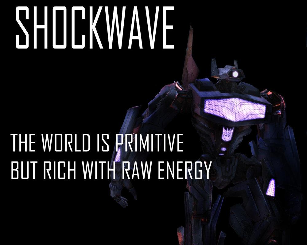 Transformers Fall Of Cybertron Shockwave Wallpaper by Lordstrscream94 1000x800