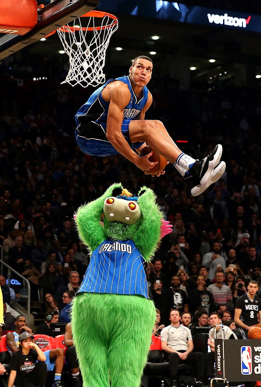 Aaron Gordon Best Dunk in 2016 Lil Preacher Favorite Sports 1000x1482