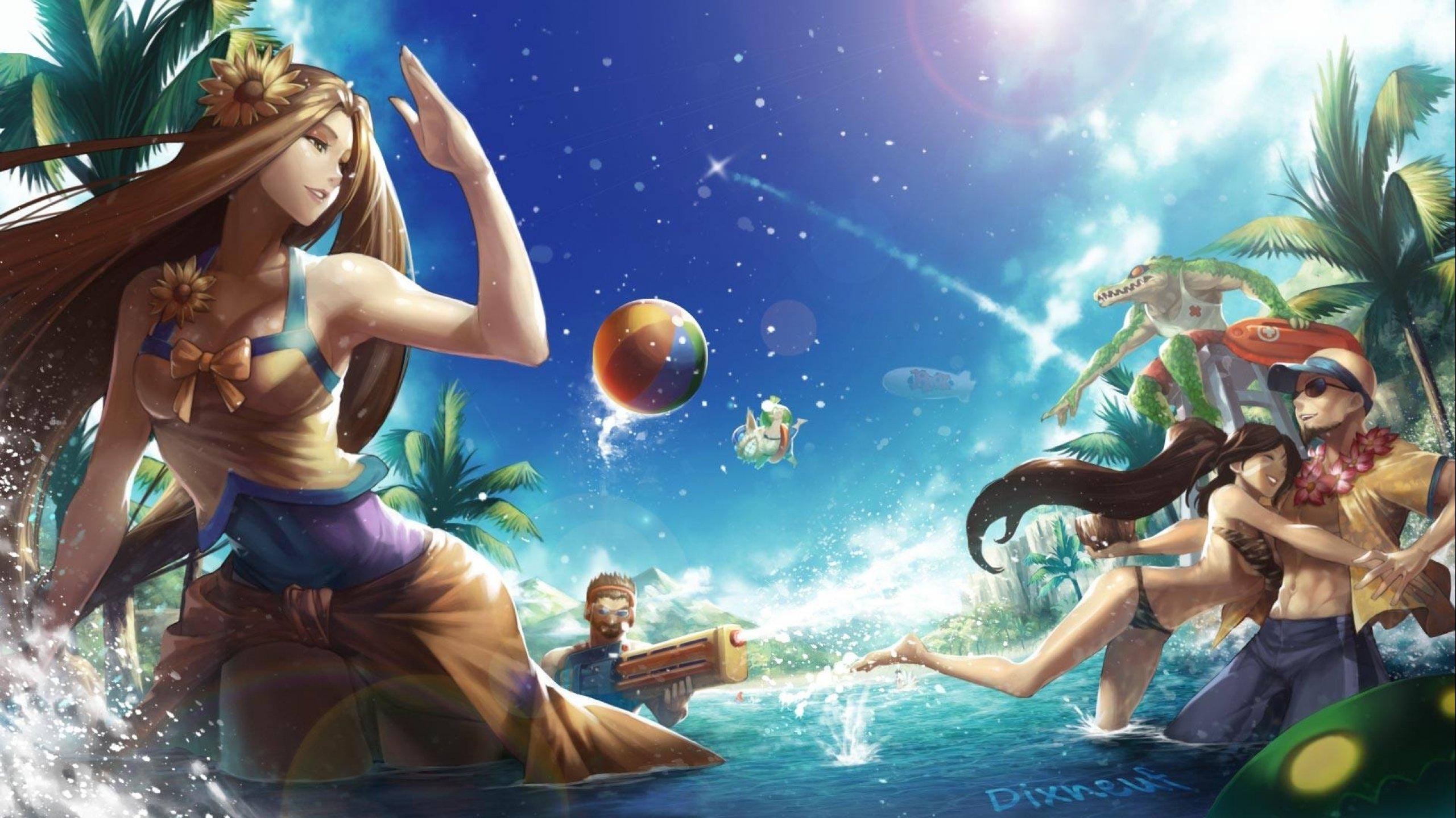 Dixneufs Artworks   League of Legends Wallpapers 2560x1440