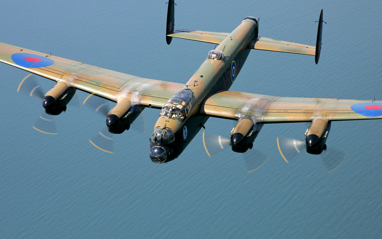 Lancaster Old War Birds Pinterest 1280x800