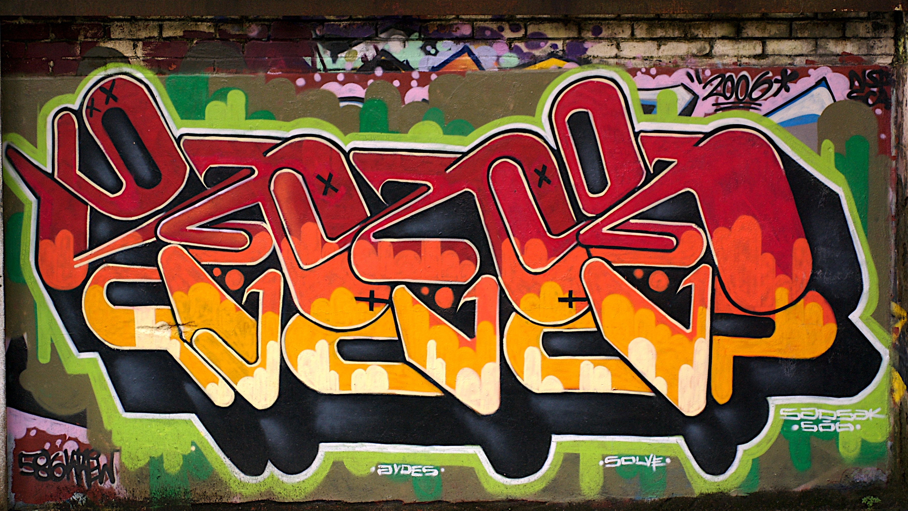 foto de Free download 43] Graffiti Wallpapers for Desktop on ...