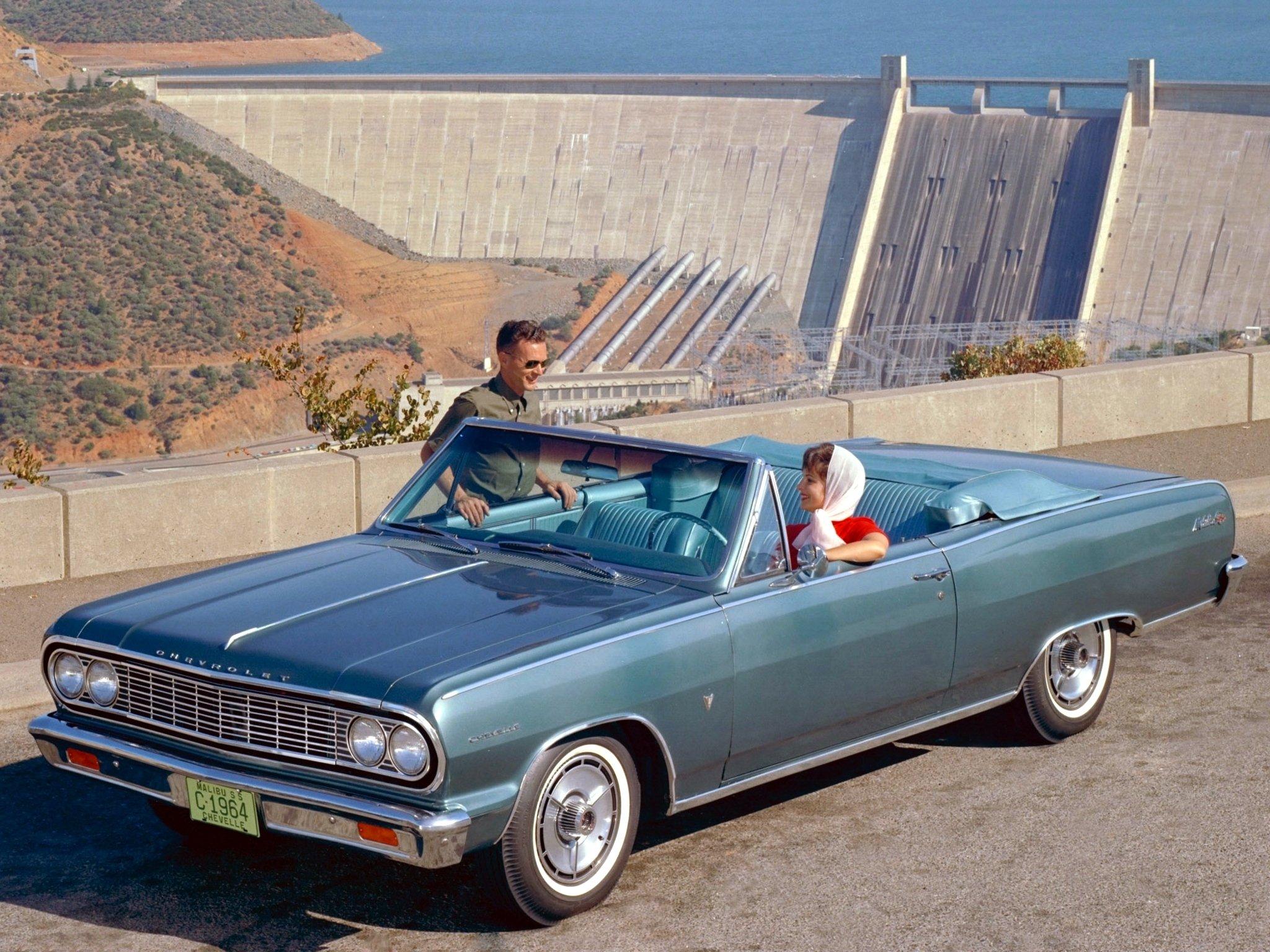 Chevelle Malibu S S Convertible 5758 67 muscle classic rt wallpaper 2048x1536