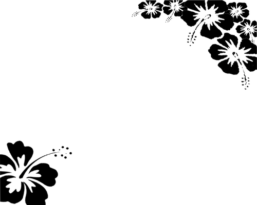 Floral backgrounds black and white Tops Wallpapers Gallery 500x400