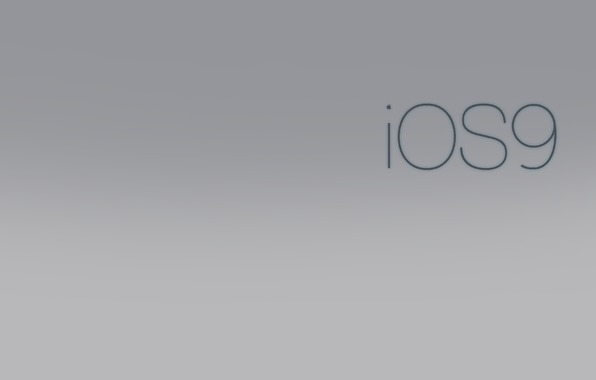 Wallpaper apple ios 9 iphone imac blurred color logo retina 4k 596x380