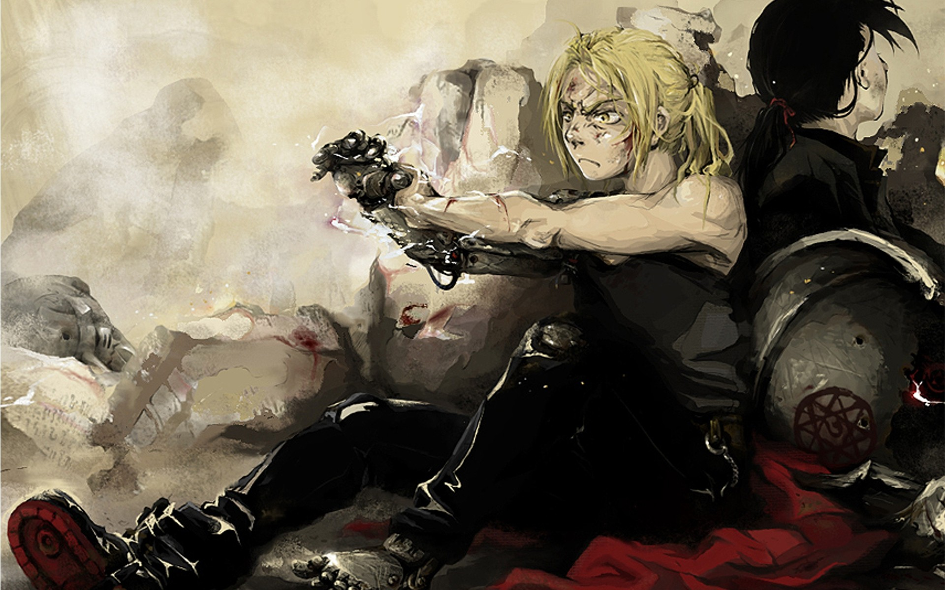 Download Edward Elric Wallpaper 1920x1200 Wallpoper 260406 1920x1200