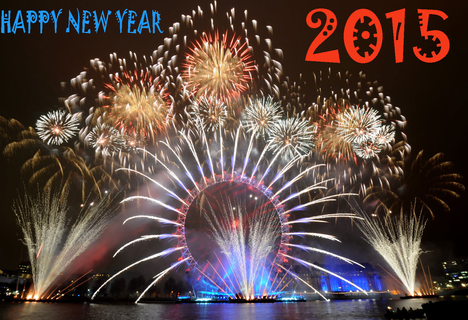Happy New Year 2015 Desktop Wallpapers Hd Chainimage 1600x1093