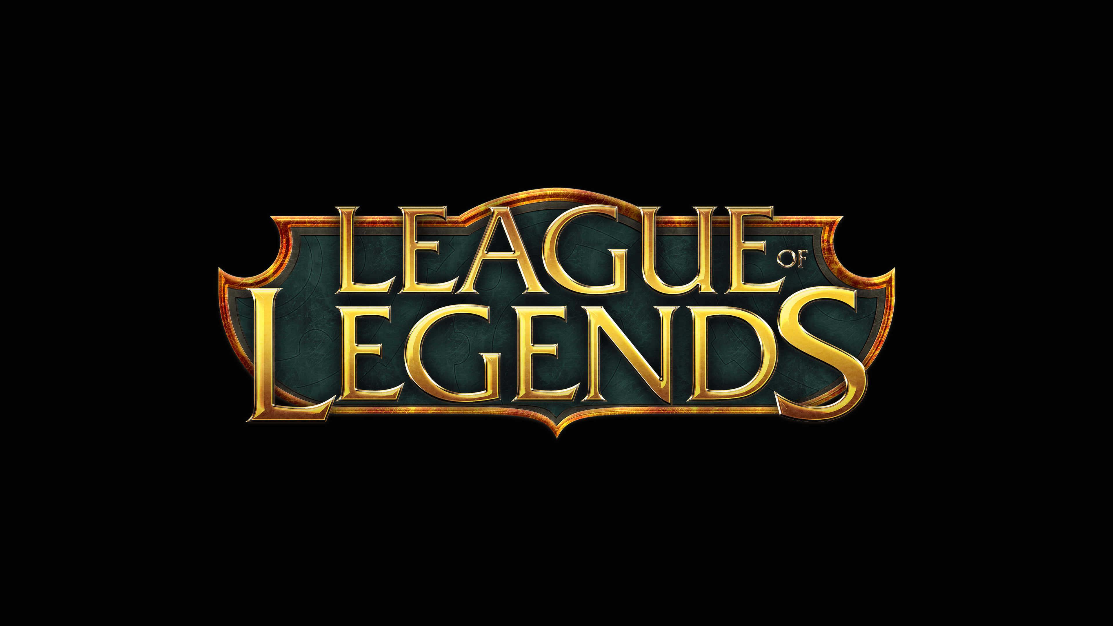 League Of Legends Logo UHD 4K Wallpaper Pixelz 3840x2160