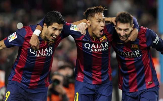 Goles de Neymar Messi 3 y Surez borran al Levante 646x403