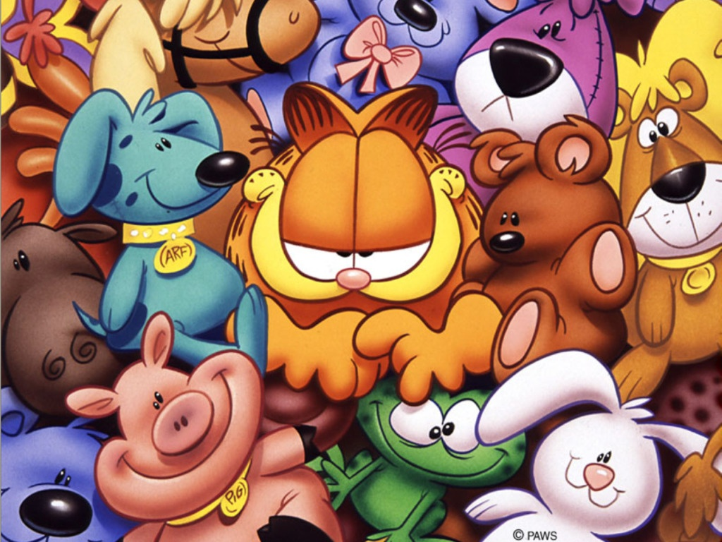 Back Gallery For wallpaper garfield 1024x768