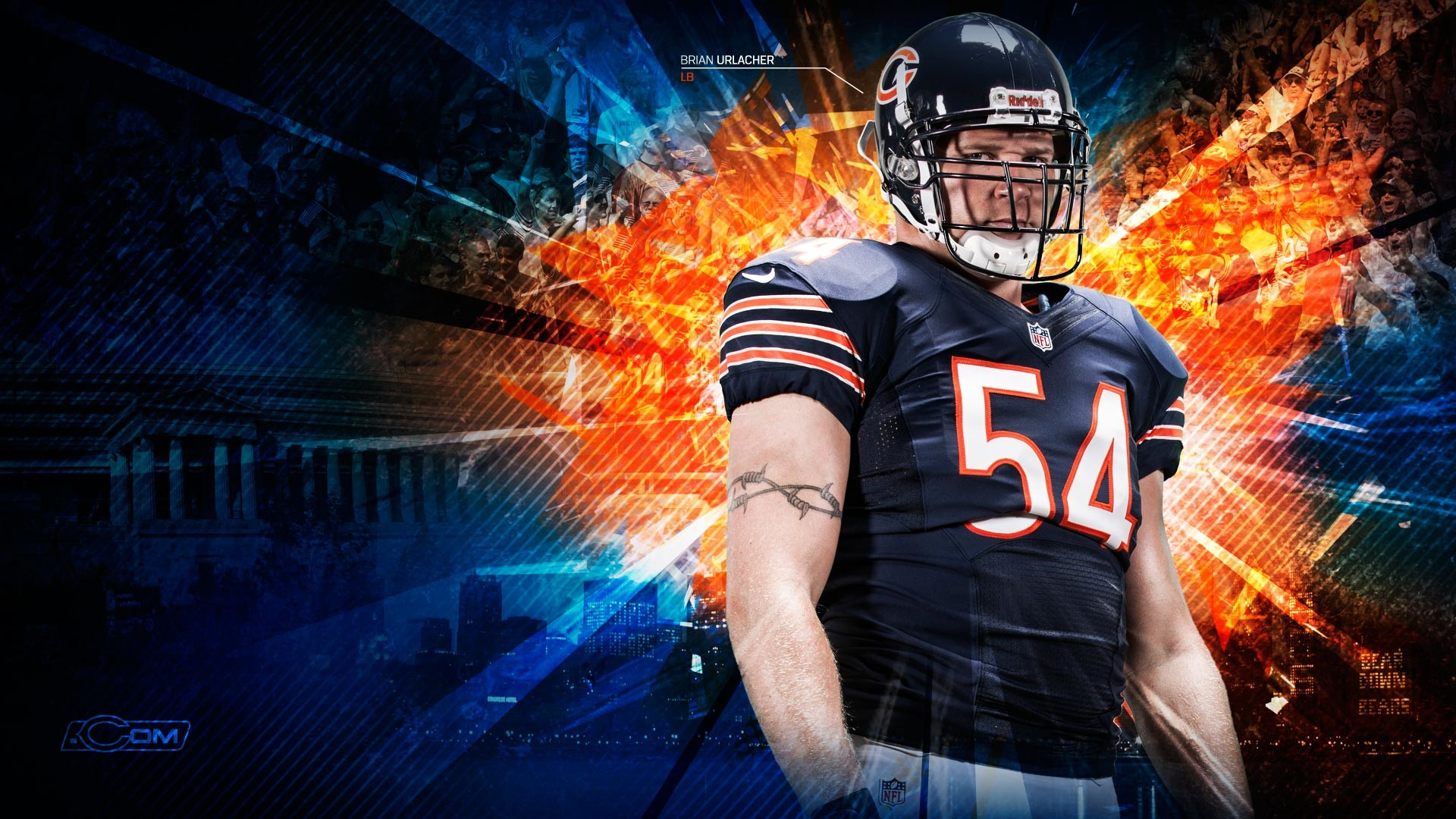 Chicago Bears Wallpapers 78 images 1920x1080