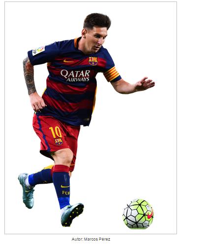 Lionel Messi Render 2015 2016 by ProRendersFutboleros 419x505