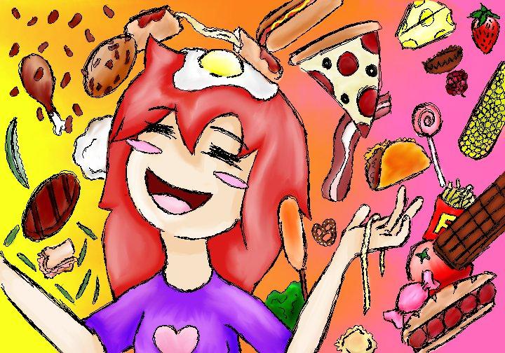 I Love Food by TripleD3 720x504