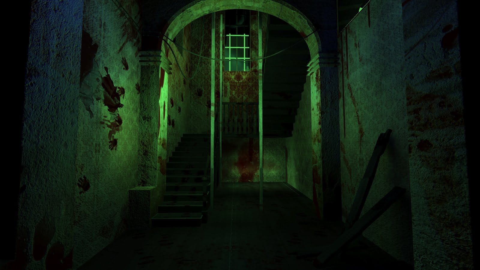 haunted mansion wallpaper pattern