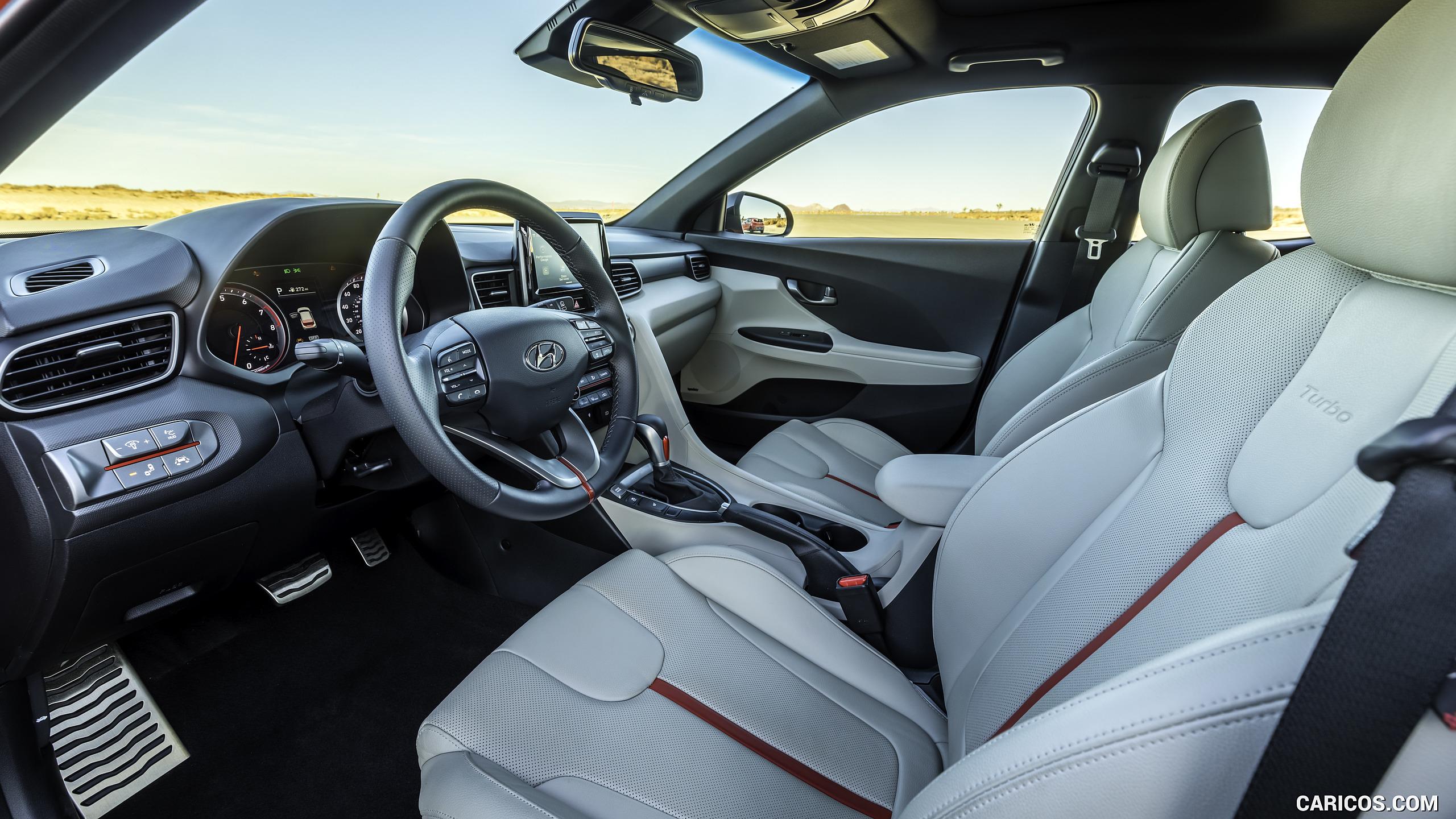 2019 Hyundai Veloster Turbo   Interior HD Wallpaper 41 2560x1440