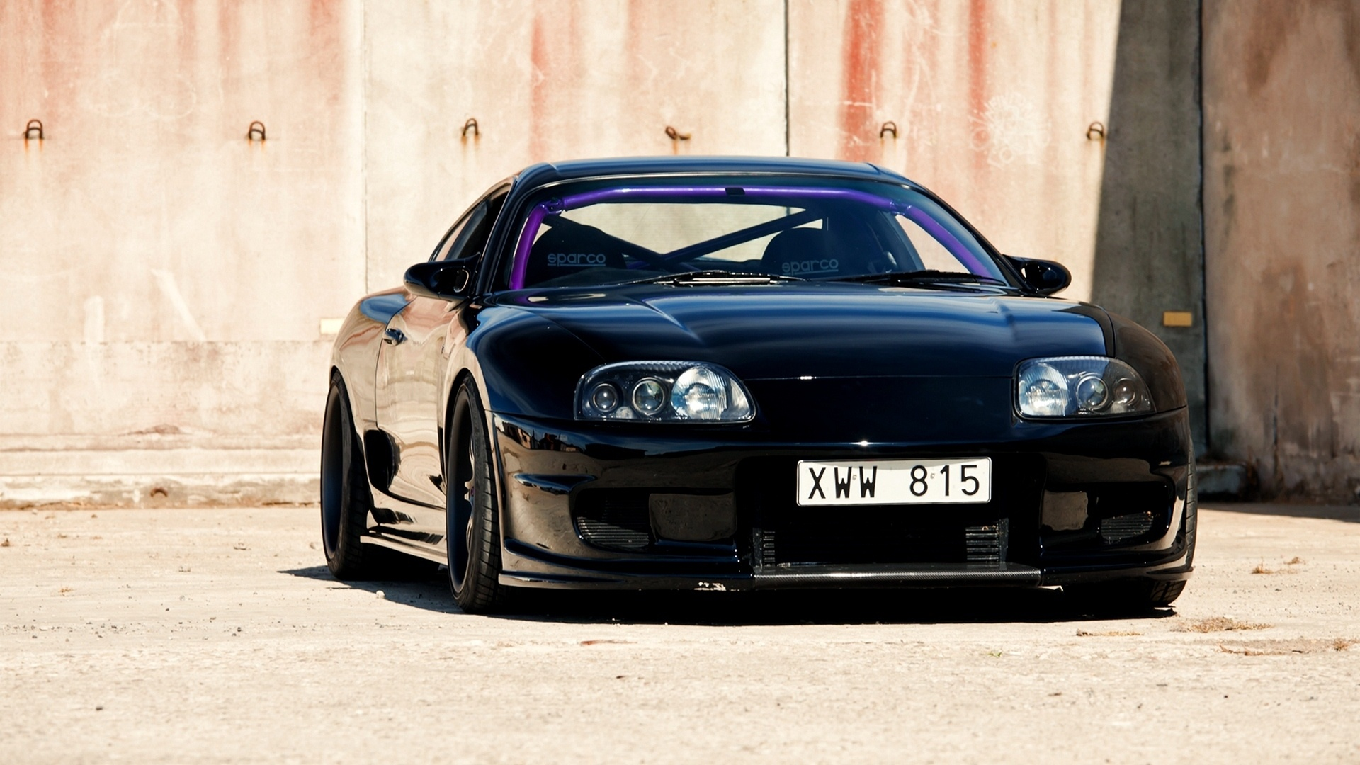 Toyota Supra Black Car 1920 x 1080 Download Close 1920x1080