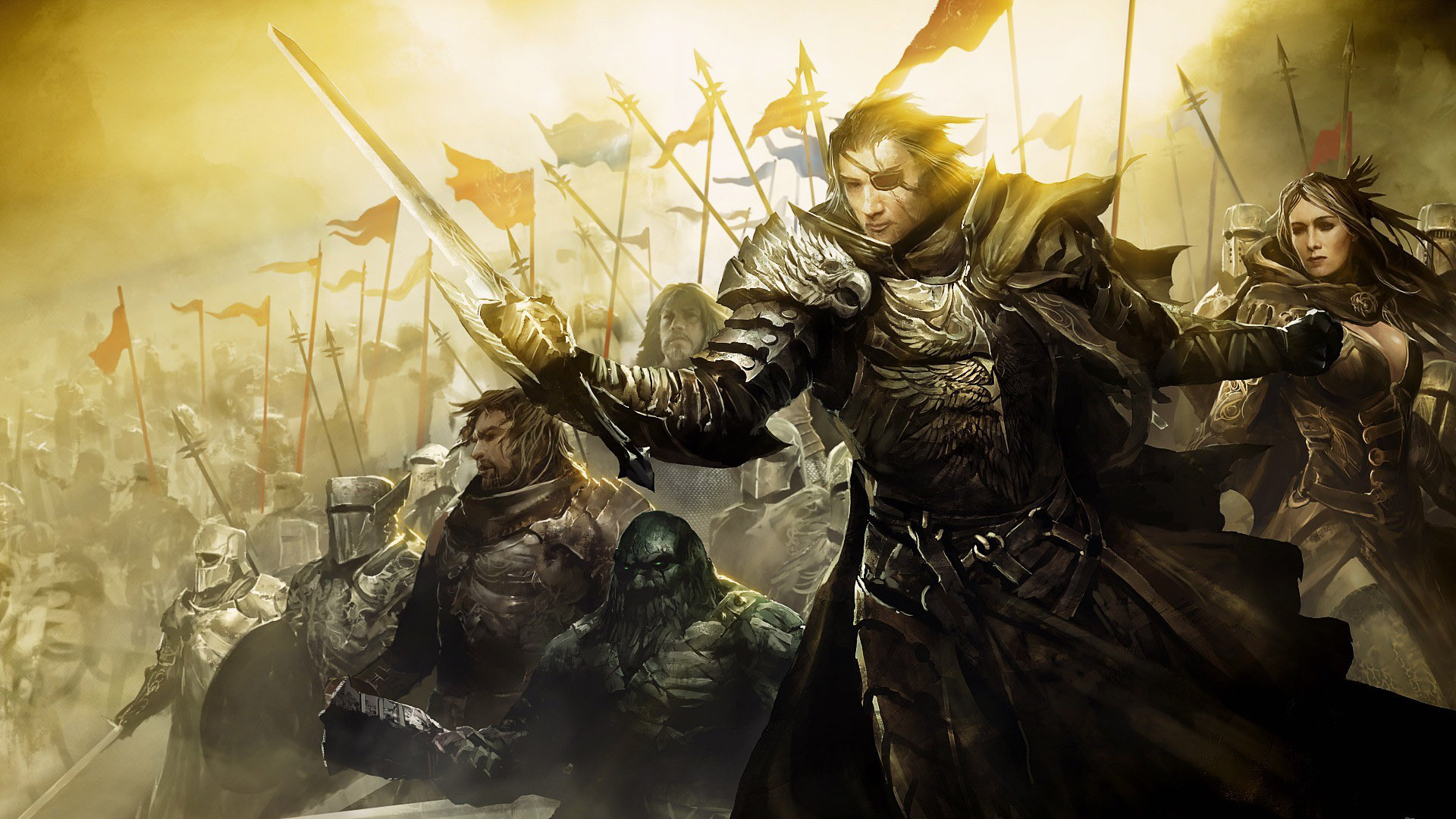 Guild Wars 2 Video Games Charr Wallpapers Hd Desktop: Guild Wars 2 Wallpaper Hd