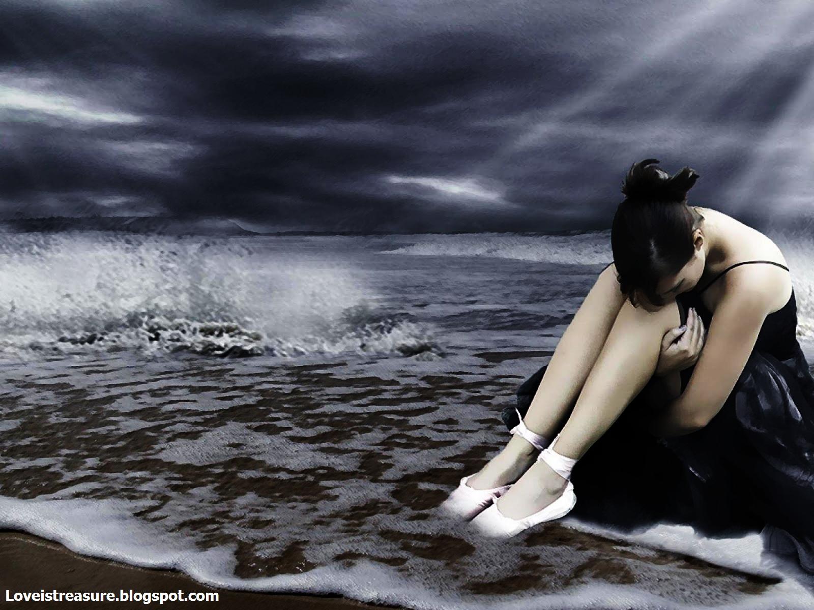 Alone sad girls Alone sad girls wallpapers Alone sad girl 1600x1200