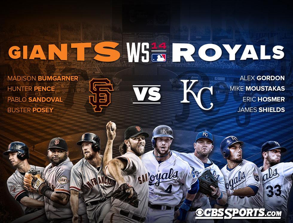 2014 World Series Preview Kansas City Royals vs San Francisco Giants 980x745