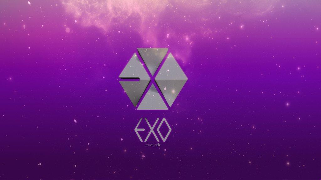 Exo Logo Wallpaper 1024x576