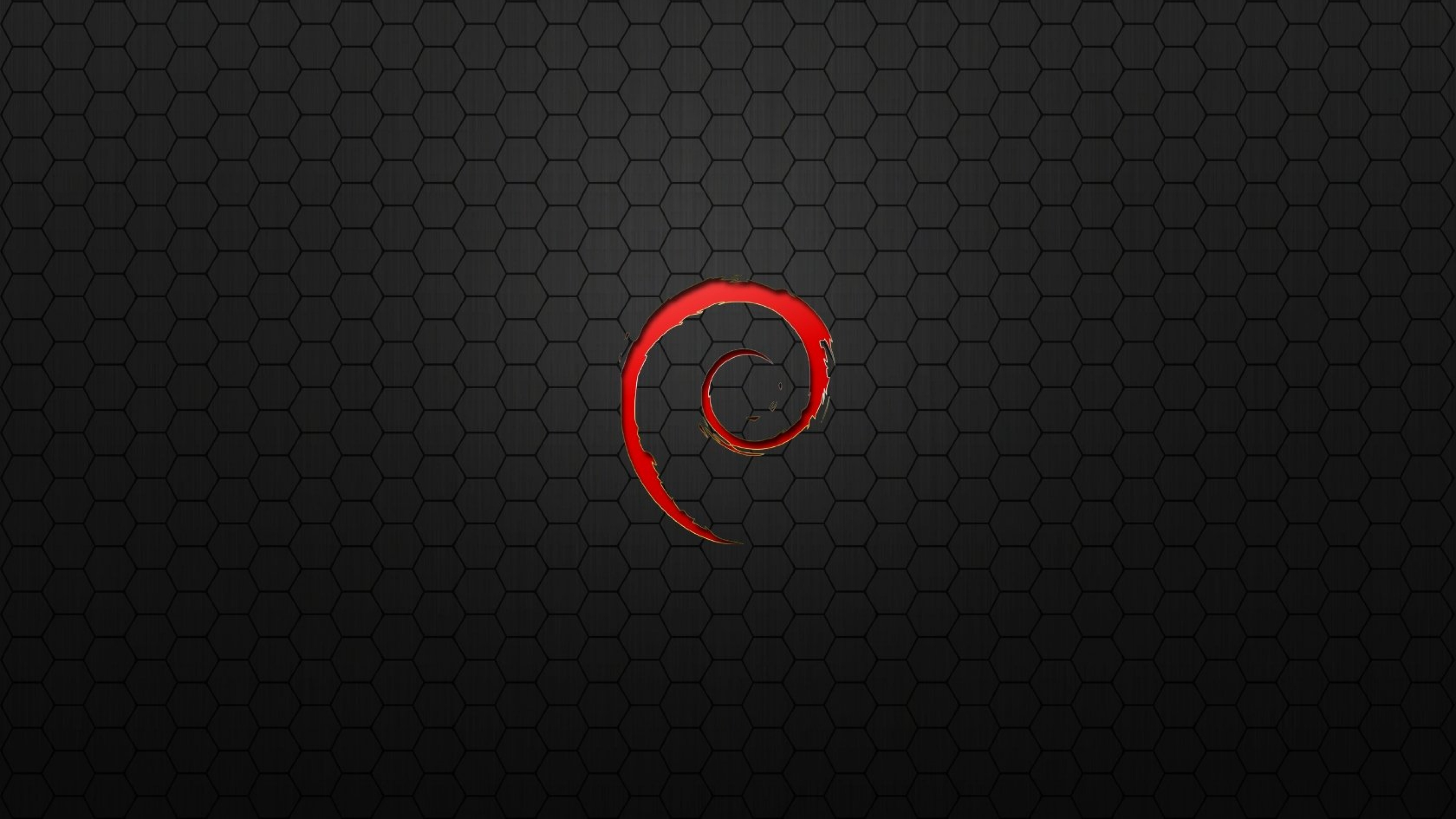 Download Wallpaper 3840x2160 Sign Spiral Red Black 4K Ultra HD HD 3840x2160