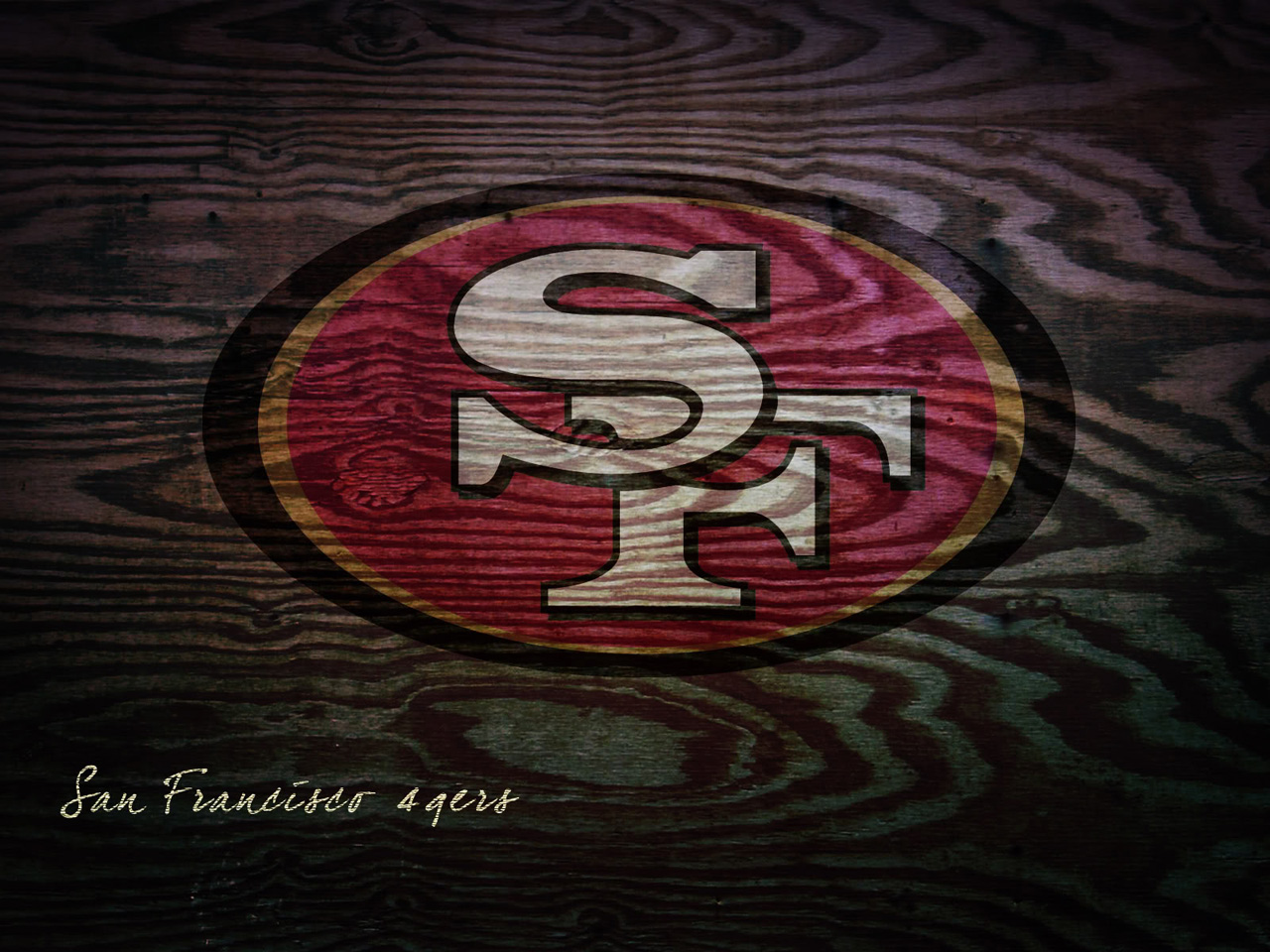 this San Francisco 49ers wallpaper background San Francisco 49ers 1280x960