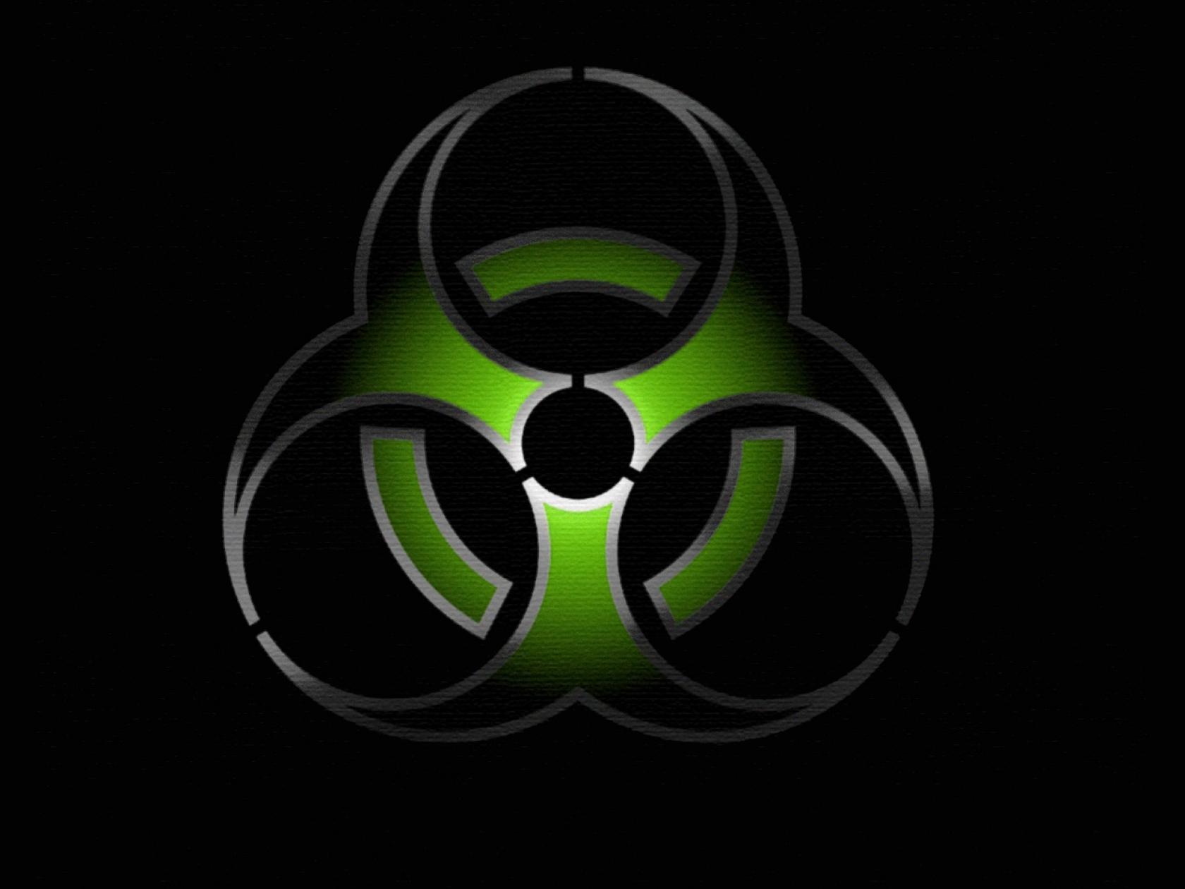 Gallery For gt Green Biohazard Hd 1680x1260