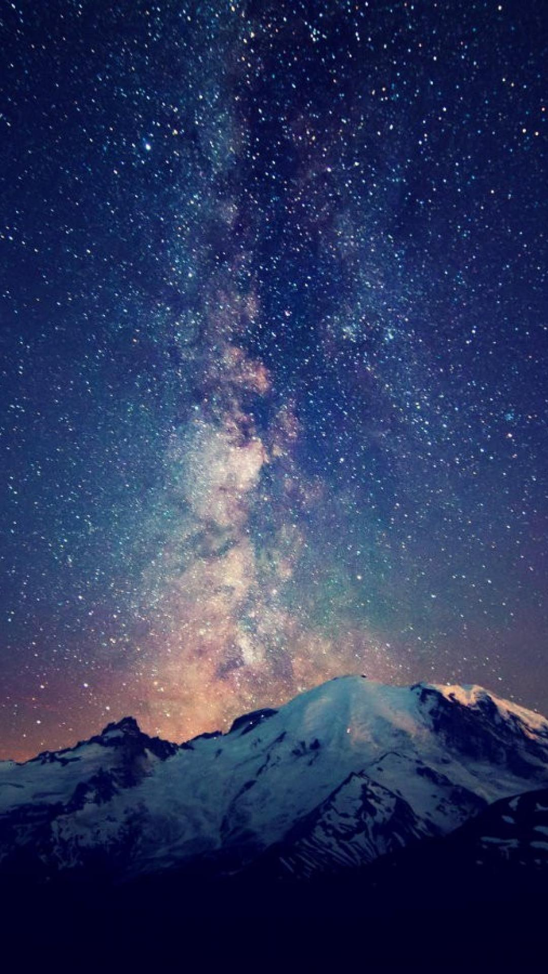 hd milky way galaxy wallpaper - wallpapersafari