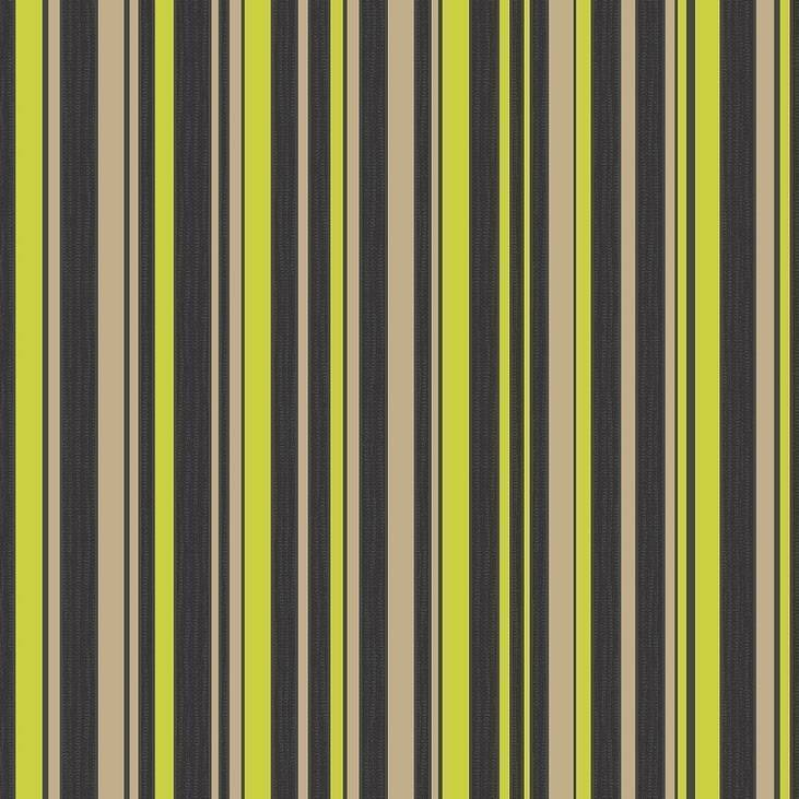 about FINE DECOR TULIPA BLACK GOLD LIME STRIPED WALLPAPER FD30556 731x731