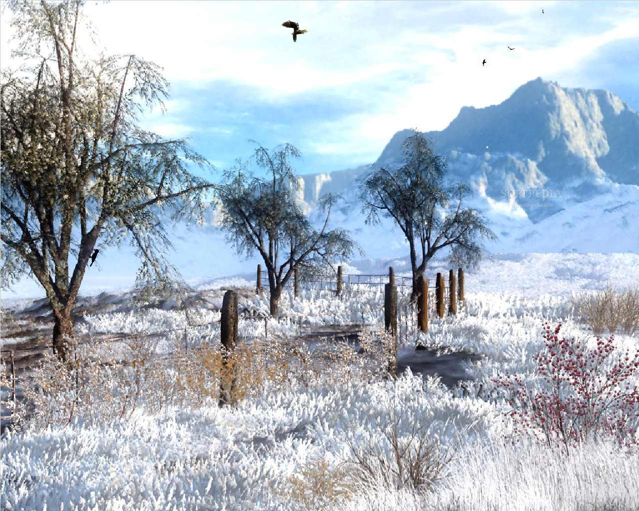animated winter screen savers 1280x1024