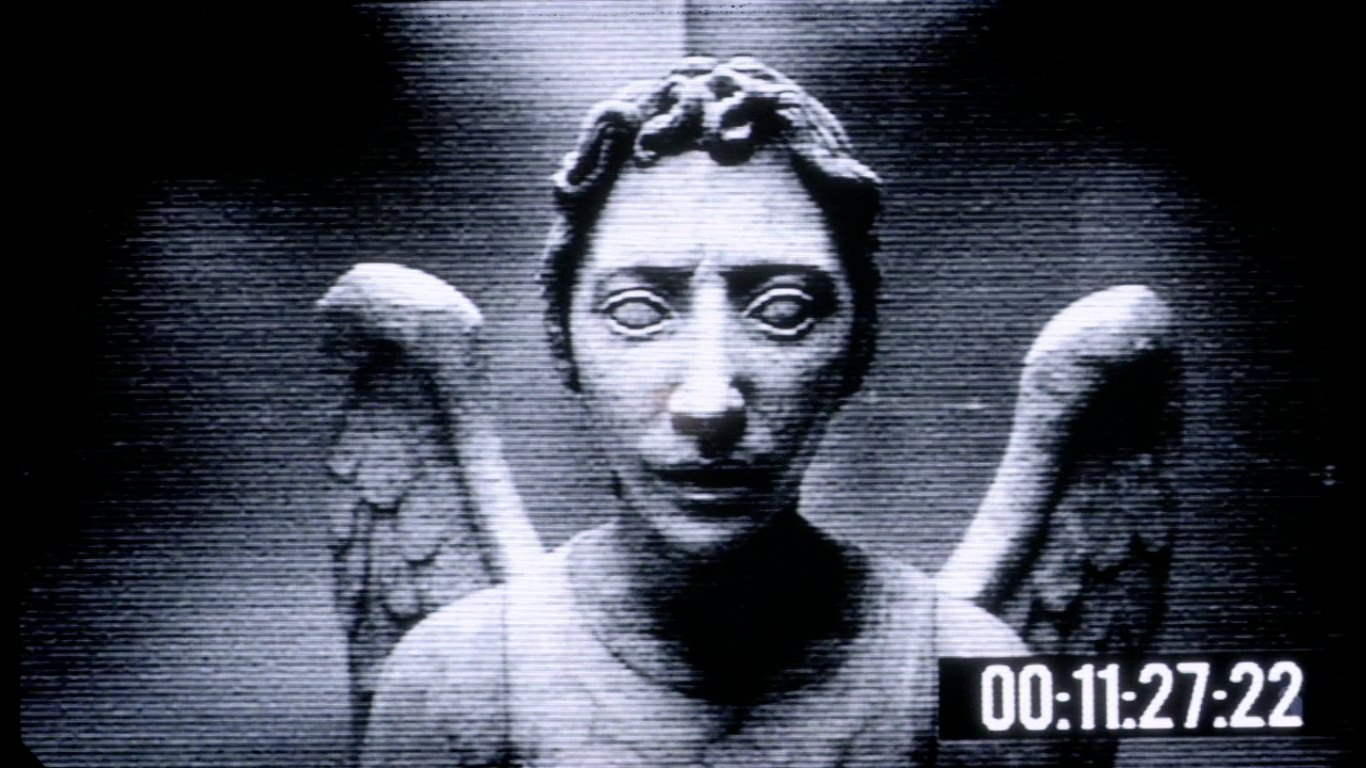 weeping angel desktop wallpaper windows mac prank 2 1366x768