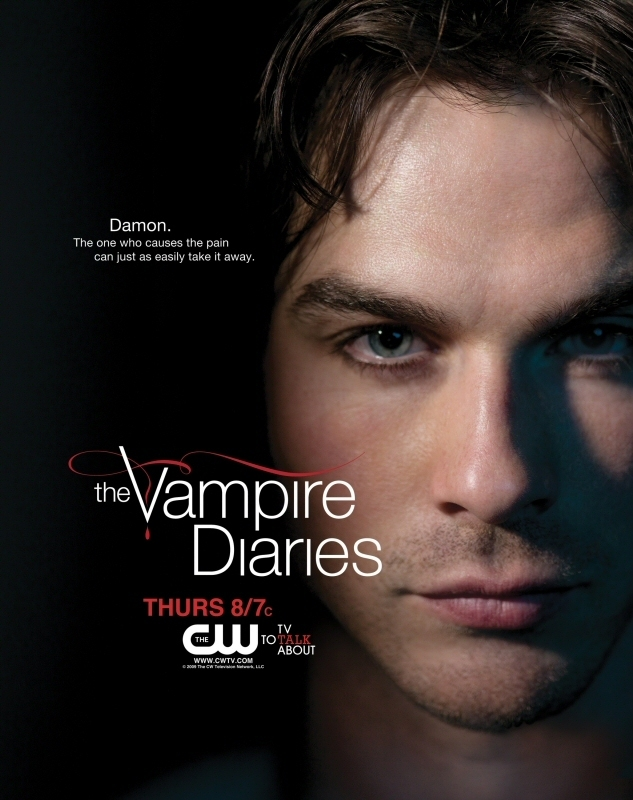 damon promo poster the vampire diaries 8638805 633 800jpg 633x800