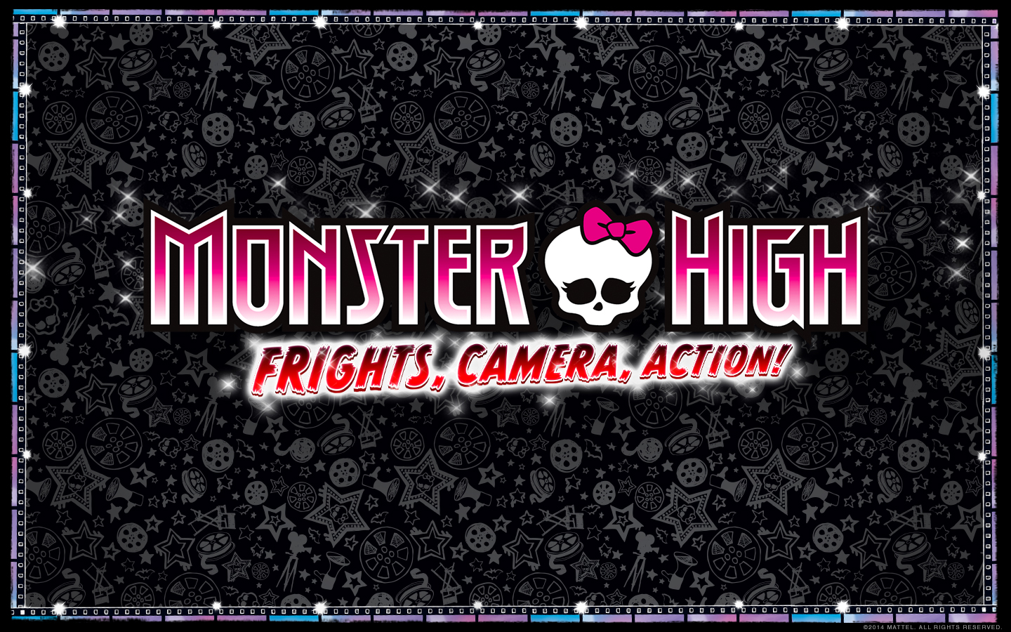 Wallpapers Icons Frights Camera Action Monster High 1440x900