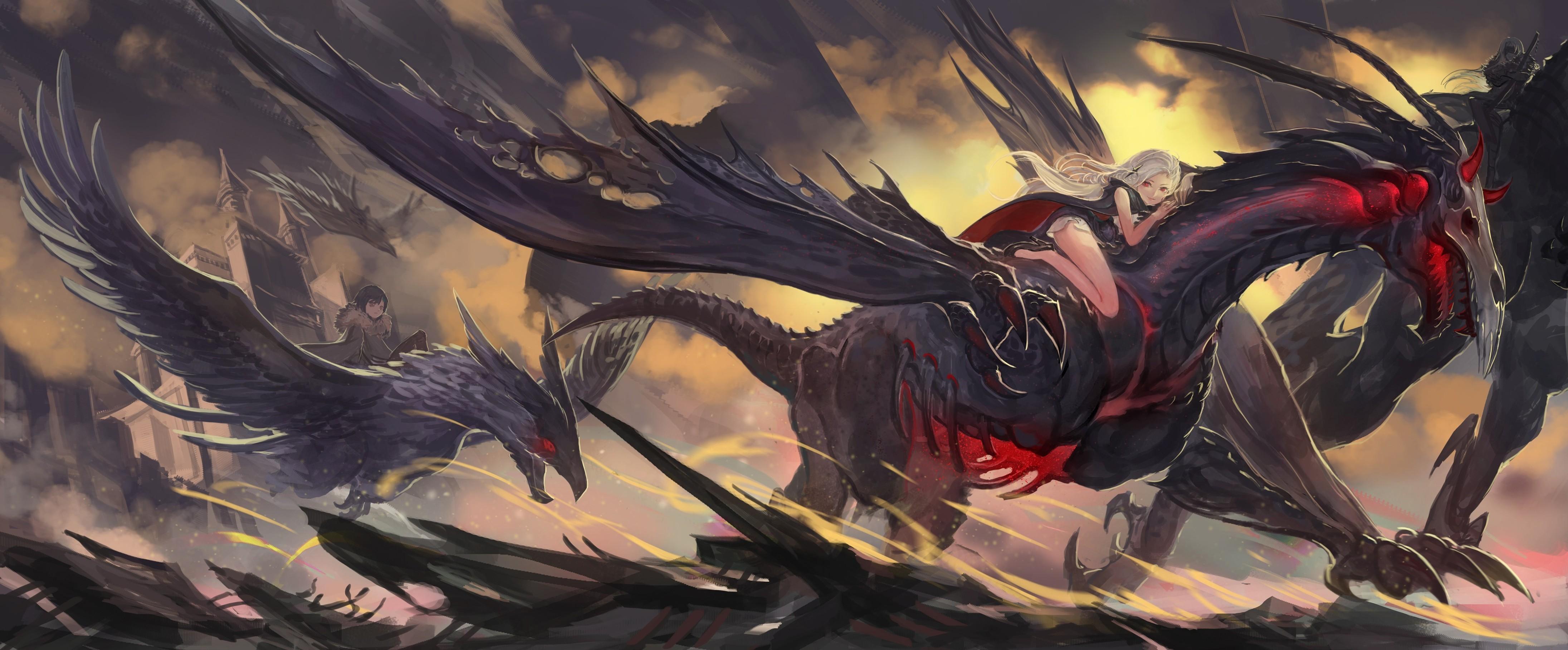 4K Cool Dragon Wallpapers - WallpaperSafari