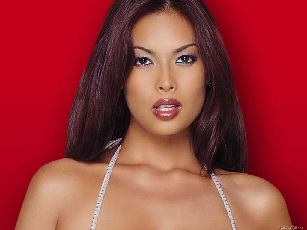 Famous Asian pornstar Tera Patrick modeling non nude in bikini № 1466273 бесплатно