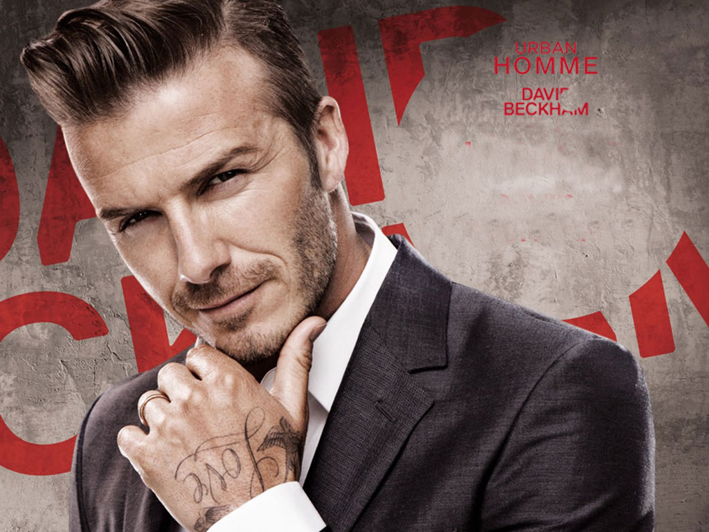 David Beckham 2013 Wallpapers 1024x768