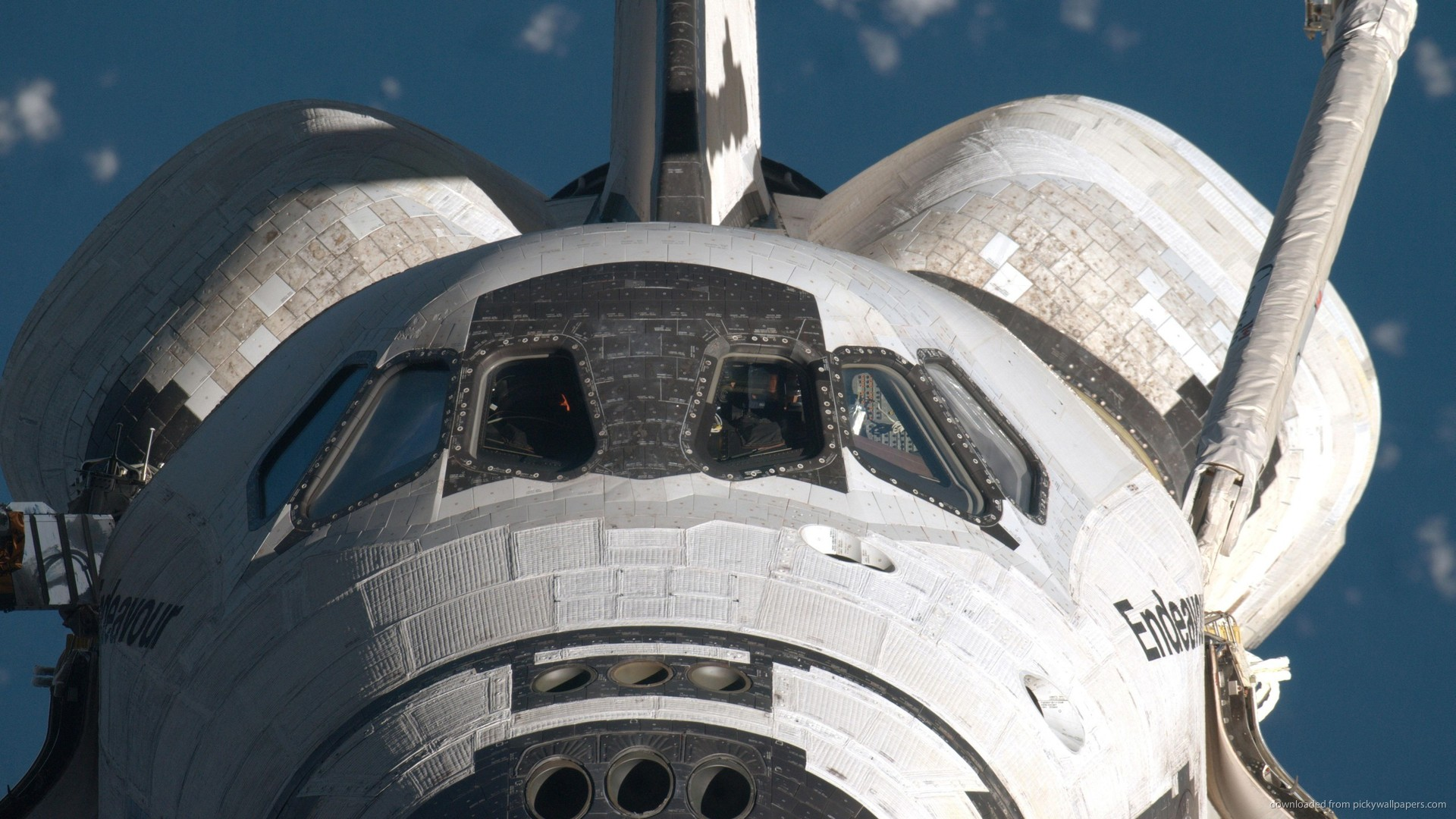 Space Shuttle In Space Picture For iPhone, Blackberry, iPad, Space ...