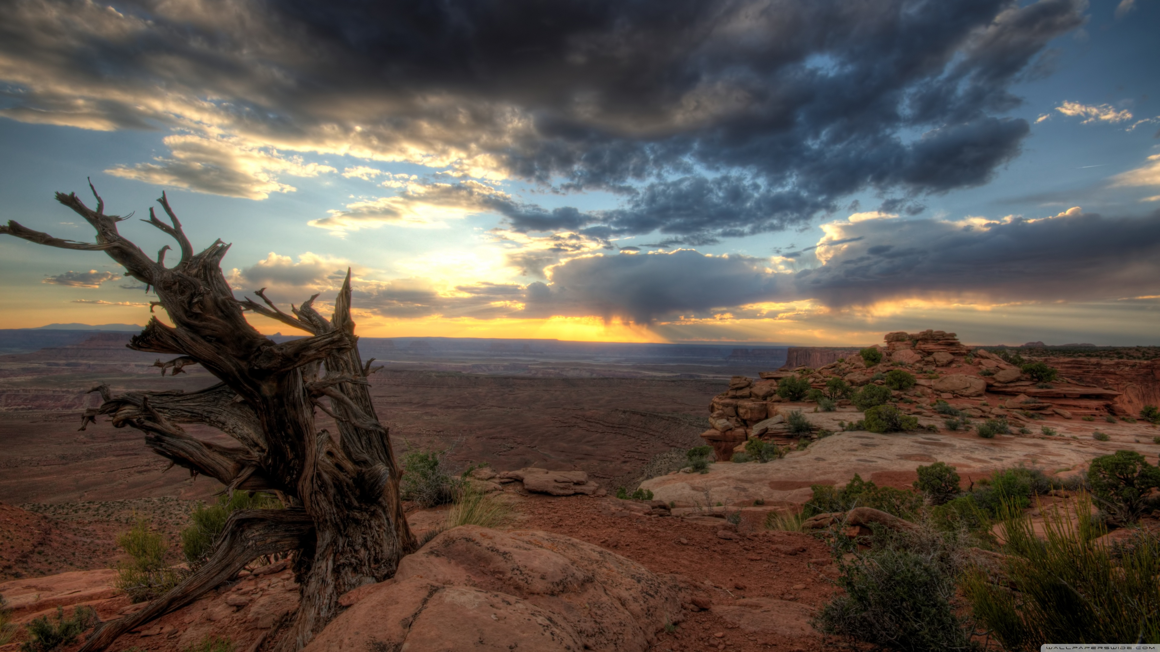 Canyonlands Overlook 4K HD Desktop Wallpaper for 4K Ultra HD TV 3840x2160