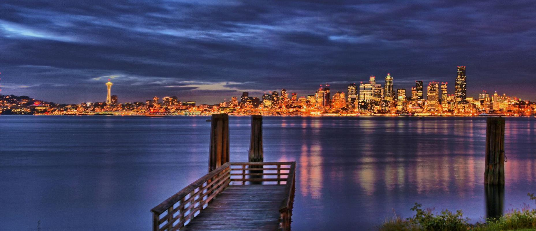 Seattle Wallpapers 1857x800