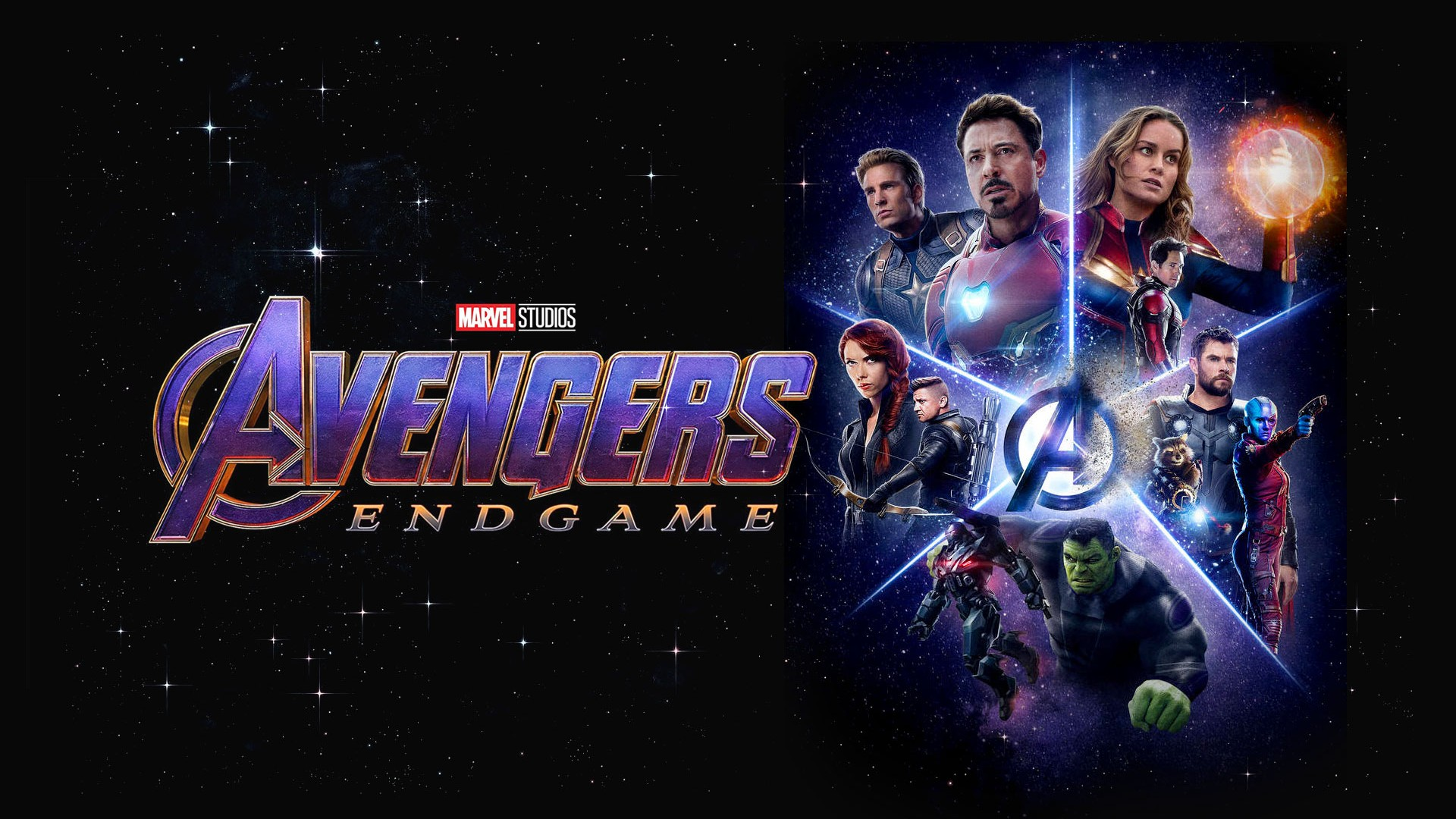 Avengers Endgame 2019 Backgrounds 2019 Movie Poster Wallpaper HD 1920x1080