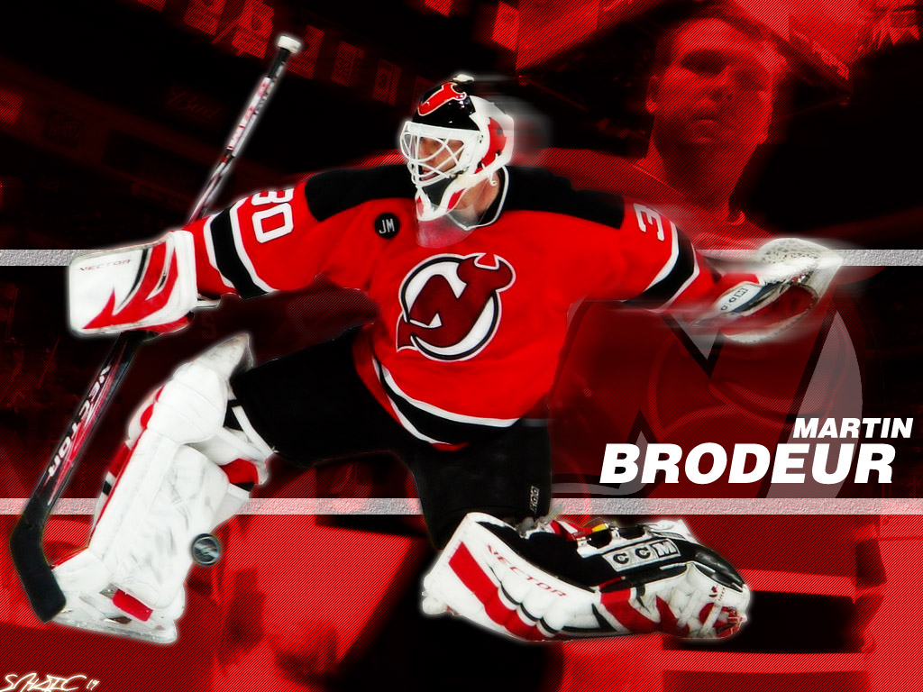 Hockey NHL Wallpaper 1024x768 Hockey NHL Martin Brodeur New 1024x768
